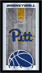 Pittsburgh Panthers Basketball Mirror by Holland Bar Stool Company