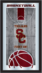 University of Southern California Trojans USC Basketball Mirror by Holland Bar Stool Company