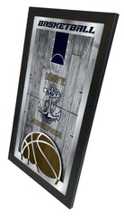 US Navy Midshipmen Academy Basketball Mirror
