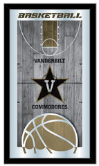 Vanderbilt Commodores Basketball Mirror by Holland Bar Stool Company