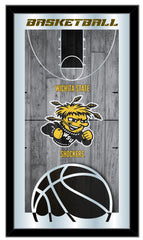 Wichita State Shockers Basketball Mirror by Holland Bar Stool Company