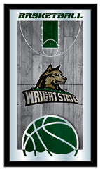 Wright State Raiders Basketball Mirror by Holland Bar Stool Company