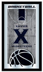 Xavier Musketeers Basketball Mirror by Holland Bar Stool Company