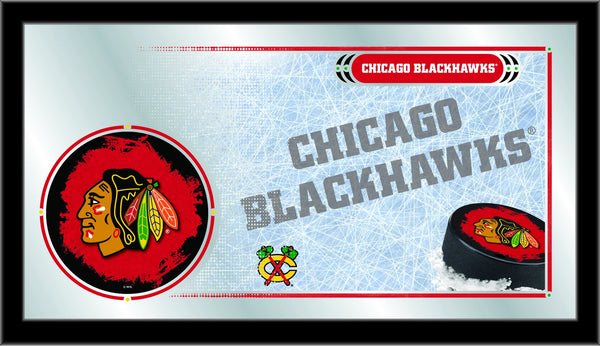 "15"" X 26"" Chicago Blackhawks Collector Mirror"