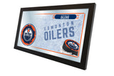 "15"" X 26"" Edmonton Oilers Collector Mirror"