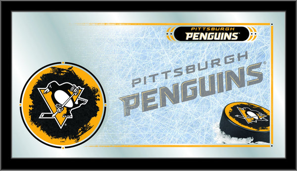"15"" X 26"" Pittsburgh Penguins Collector Mirror"