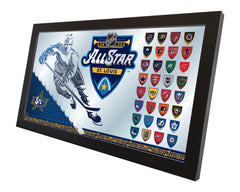 "15"" X 26"" NHL All Star Game Mirror Side"