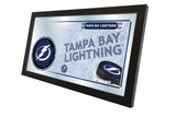 "15"" X 26"" Tampa Bay Lightning Collector Mirror"