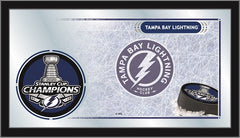 "15"" X 26"" Tampa Bay Lightning 2020 Stanley Cup Collector Mirror"