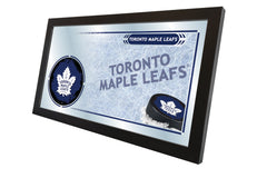 "15"" X 26"" Toronto Maple Leafs Collector Mirror"