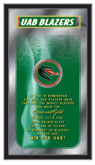 UAB Fight Song Mirror by Holland Bar Stool Company