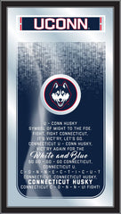 University of Connecticut Huskies Fight Song Mirror by Holland Bar Stool Company