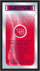 Dayton Flyers Fight Song Mirror by Holland Bar Stool Company