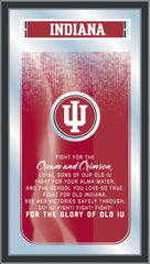 Indiana Hoosiers Fight Song Mirror by Holland Bar Stool Company