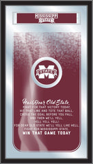 Mississippi State University Bulldogs Fight Song Mirror by Holland Bar Stool Company