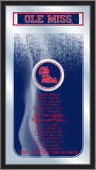 Ole Miss Rebels Fight Song Mirror by Holland Bar Stool Company