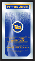 Pittsburgh Panthers Fight Song Mirror by Holland Bar Stool Company