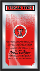 Texas Tech Red Raiders Fight Song Mirror by Holland Bar Stool Company