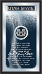 Utah State Aggies Fight Song Mirror by Holland Bar Stool Company