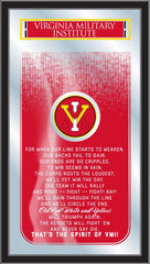 VMI Keydets Fight Song Mirror by Holland Bar Stool Company