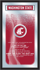 Washington State Cougars Fight Song Mirror by Holland Bar Stool Company