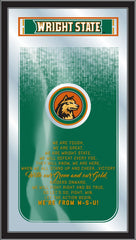Wright State Raiders Fight Song Mirror by Holland Bar Stool Company