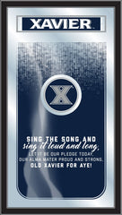 Xavier Musketeers Fight Song Mirror by Holland Bar Stool Company