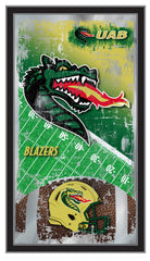 UAB Football Mirror by Holland Bar Stool Company