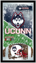University of Connecticut Huskies Football Mirror by Holland Bar Stool Company