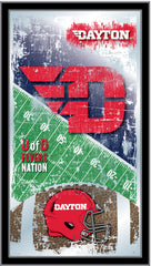 Dayton Flyers Football Mirror by Holland Bar Stool Company