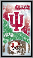 Indiana Hoosiers Football Mirror by Holland Bar Stool Company