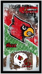 Louisville Cardinals Football Mirror by Holland Bar Stool Company