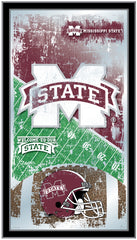 Mississippi State University Bulldogs Football Mirror by Holland Bar Stool Company