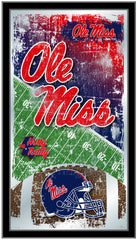 Ole Miss Rebels Football Mirror by Holland Bar Stool Company