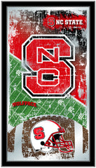 NC State Wolfpack Football Mirror by Holland Bar Stool Company