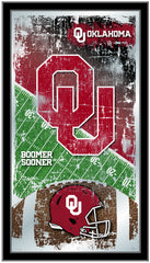 Oklahoma Sooners Football Mirror by Holland Bar Stool Company