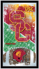 University of Southern California Trojans USC Football Mirror by Holland Bar Stool Company