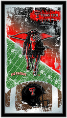 Texas Tech Red Raiders Football Mirror by Holland Bar Stool Company