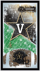 Vanderbilt Commodores Football Mirror by Holland Bar Stool Company