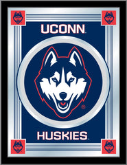 University of Connecticut Huskies Logo Mirror by Holland Bar Stool Company