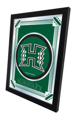 Hawaii Rainbow Warriors Logo Mirror