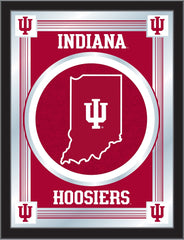 Indiana Hoosiers Logo Mirror by Holland Bar Stool Company