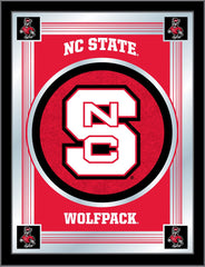 NC State Wolfpack Logo Mirror by Holland Bar Stool Company