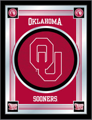 Oklahoma Sooners Logo Mirror by Holland Bar Stool Company