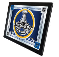 "17"" X 22"" St. Louis Blues Stanley Cup Logo Mirror"