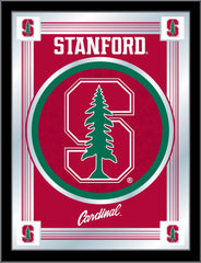 Stanford Cardinals Logo Mirror by Holland Bar Stool Company