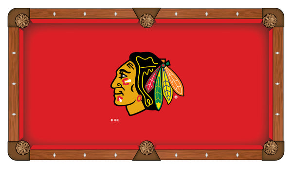 Chicago Blackhawks Logo Billiard Cloth