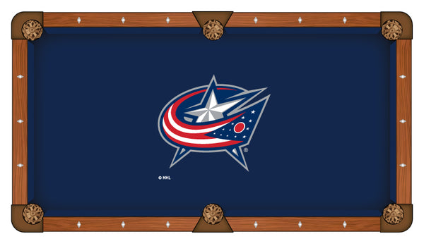 Columbus Blue Jackets Logo Billiard Cloth
