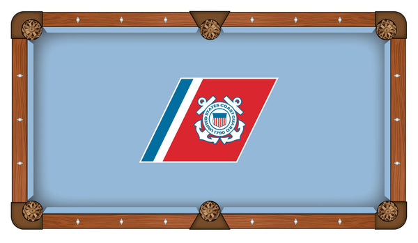 US Coast Guard Logo Billiard Cloth