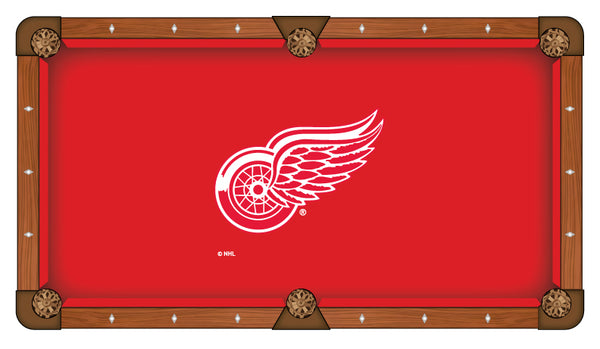 Detroit Red Wings Logo Billiard Cloth